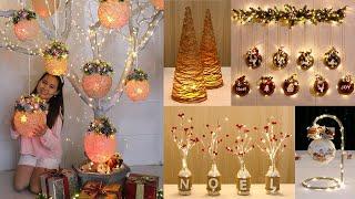 9 Jute craft Christmas decorations ideas 🎄 Christmas decoration ideas