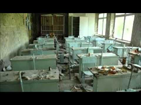 Chernobyl Ghost Town, Abandoned Houses, Schools and Hopsitals