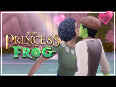 SECRET FOREST HIDEAWAY // The Sims 4: Princess & The Frog #3