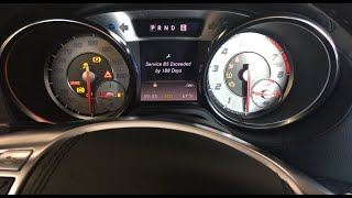 Reset Service Mercedes-Benz SL-Class R231 2013-2017