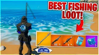 How To Get INSANE LOOT From FISHING in Fortnite Chapter 2! (Fishing in Fortnite)