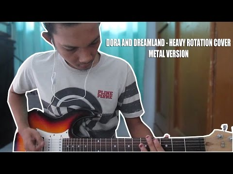 JKT48 - Heavy Rotation Metal Version (Guitar Cover)