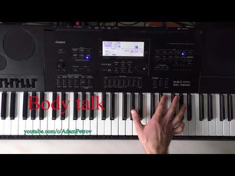Body Talk (piano tutorial & cover)