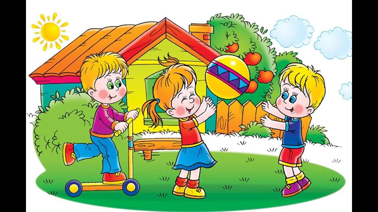 Детский сад Песенки для малышей Развивающий мультфильм ...