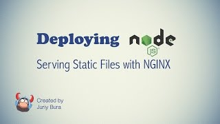 Serving static files with NGINX