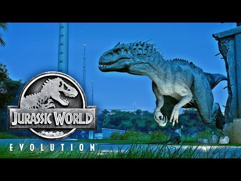 Jurassic world evolution news