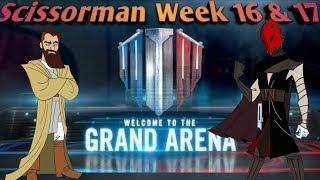 Weekly Series: Scissorman F2P Featuring SureShot   Star wars galaxy of heroes  swgoh Video