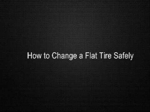 how-to-change-a-flat-tire-safely