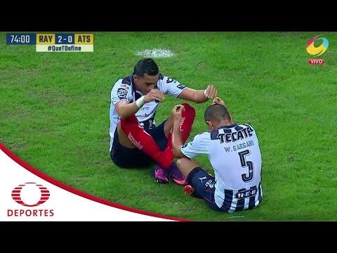 Doblete de Funes Mori | Monterrey 2 - 0 Atlas | Clausura 2017 - Jornada 11 | Televisa Deportes