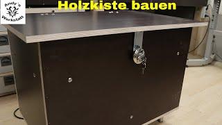 Wetterfeste Kiste/Zeitungskiste selber bauen - diy