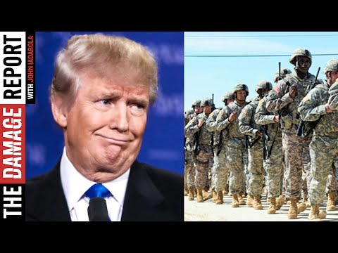 Trump SELLS OUT American Troops