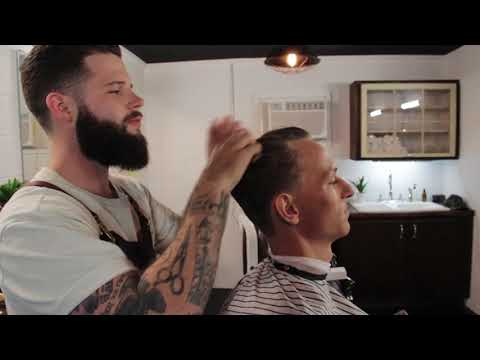 How To Use Pomade || The Mailroom Barber Co
