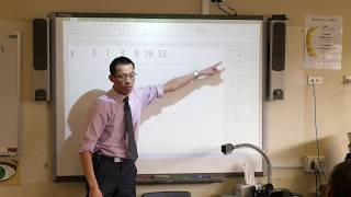 Parabolas (2 of 3: Using technology to produce coordinates)