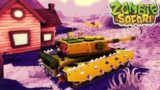 ТАНК ПРОТИВ ЗОМБИ zombie safari #10 ВИДЕО про машинки прохождение ДЛЯ ДЕТЕЙ VIDEOS FOR KIDS games