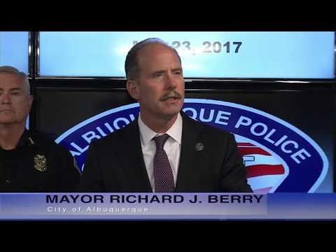 Mayor Richard J. Berry, City of Albuquerque  News Conference  5-23-17
