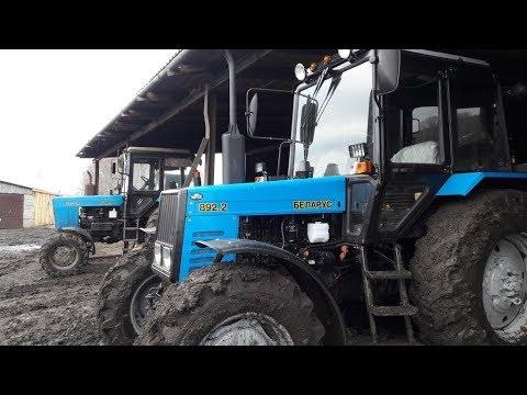 Обзор трактора МТЗ 892 2 и сравнение с МТЗ 82 1