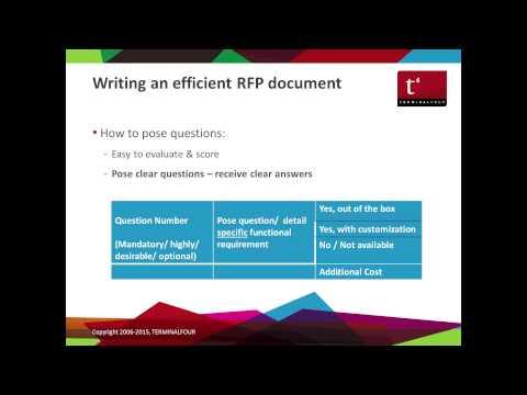 Webinar - How to run an efficient WCMS Evaluation & Procurement Process
