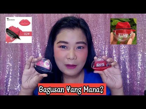 lipstik-emut-matte-(bukan)-ty-cosmetic-review-ii-shopee-makeup-haul