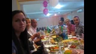 Тост Ани на своём юбилее