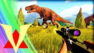 DINOSAUR HUNT! Gmod Jurassic Park Dinosaurs