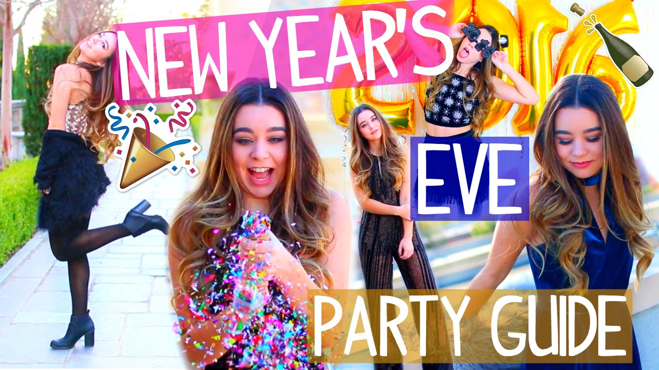 New Years Eve Makeup Outfit Ideas Easy Diy Photo Booth Youtube