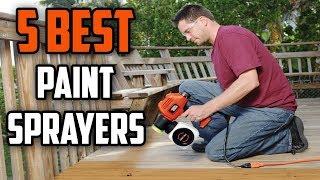 ☑️ Paint Sprayer: 5 Best Paint Sprayers In 2018 | Dotmart