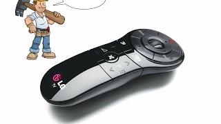 Розбираю чарівний пульт від LG Magic Motion Remote Control