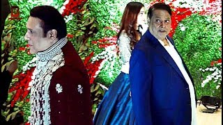 Govinda, David Dhawan Arrives At At Jayantilal Gada's Son Akshay Wedding Reception Video