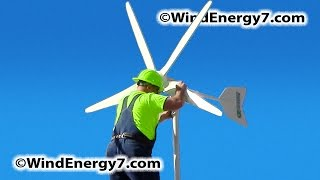 Home Wind Turbine, Rooftop Wind Turbine