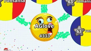Agar.io Team is Better than Solo? Agar.io Mobile Gameplay