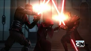 [Battlefront 2] ALL HEROES GAMEPLAY! Darth Maul vs. Rey