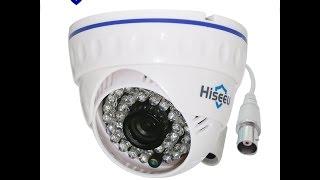 Обзор AHD камеры Hiseeu AHCR511 (960 P)