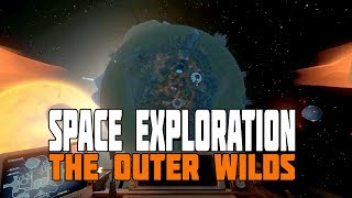 The Outer Wilds - New Space Game - First 40 Minutes - Gameplay