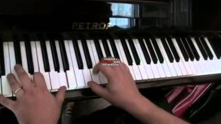 Child in time (Deep Purple) - intro tutorial - studio recorded version - 440Hz tuned piano
