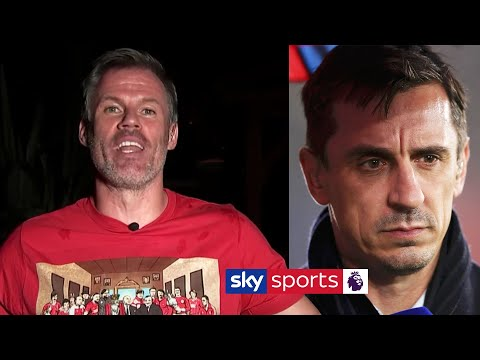 Jamie Carragher teases Gary Neville over Liverpool's Premier League title victory