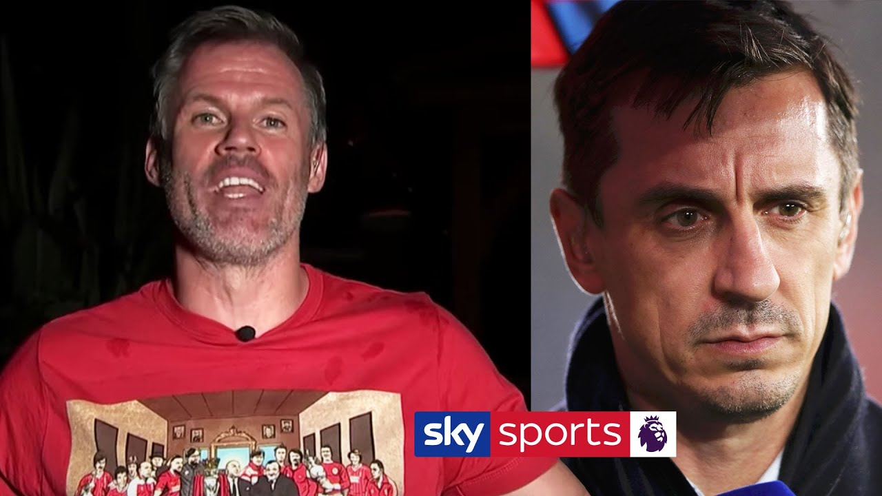 Premier League table: Gary Neville reacts brilliantly after Liverpool ...