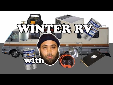 Full-time RV: Winterizing your RV for Winter