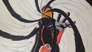 How to draw Tobi from Naruto [HD]