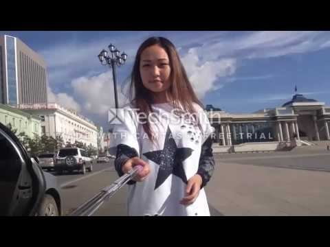 Longboard mongolia learning and traveling in ulaanbaatar first time2016:08:21