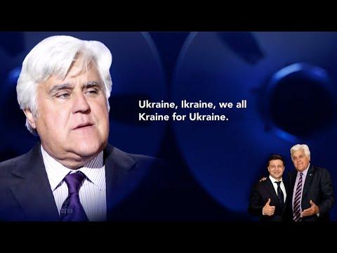 Exclusive Audio: Jay Leno Dines With Ukraine President Volodymyr Zelensky