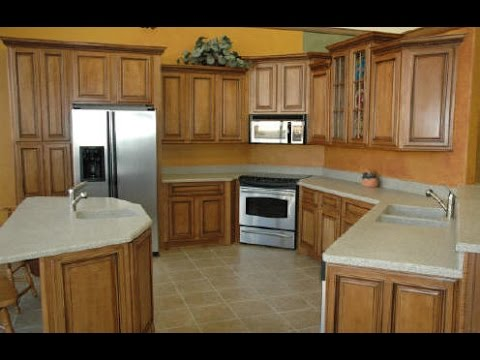 Kitchens With Maple Cabinets - YouTube