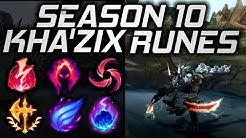 Kha'Zix Rune Guide Season 10 - Which Runes Should You Use?