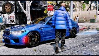 ► GTA 6 Graphics - BMW M5 F90 - 2018 ✪ M.V.G.A. - Gameplay! Realistic Graphics MOD PC 60FPS
