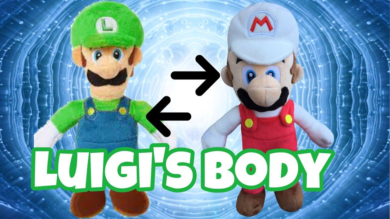Super Mario Bros(Luigi's Body)+(Mario and Luigi meets Sonic)