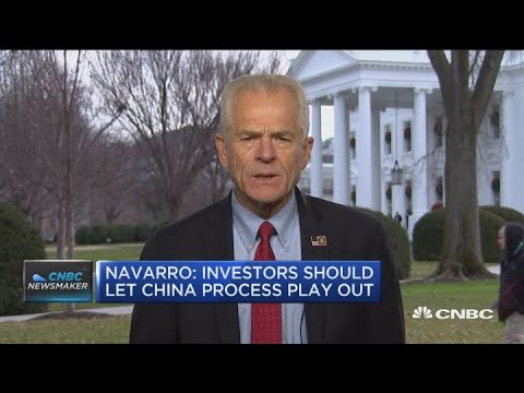 Watch CNBC's full interview with White House trade advisor Peter Navarro