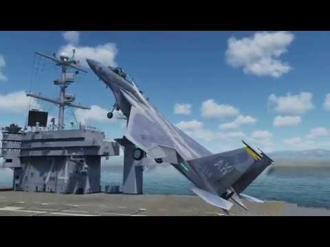 Land an F-15 on a Nimitz?!