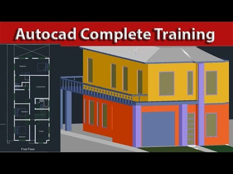 AutoCAD Tutorial Course Complete Beginner to Advance ( Learn Autocad  complete )