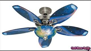 Ceiling Fans with Lights for Kids Rooms