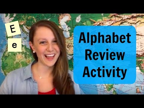 Alphabet Review: ENGAGING CLASSROOM ACTIVITY