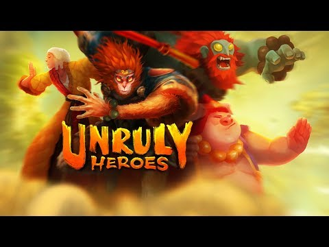 🐵 Unruly Heroes is out now! 🐵